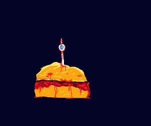 Human sandwich