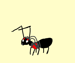 ant man is literally an ant