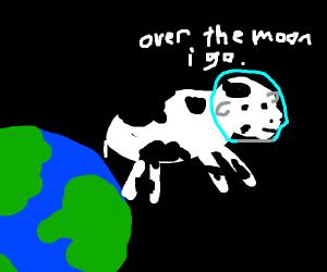 Cowstronaut