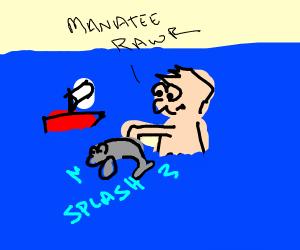 Manatee Toy