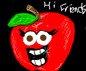 super friendly apple