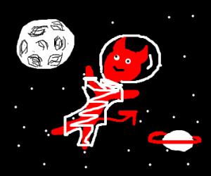 satan in space