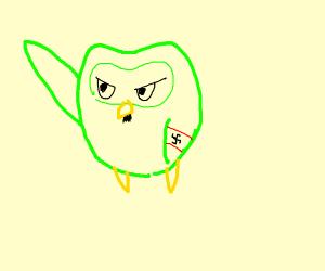 Hitler duolingo owl