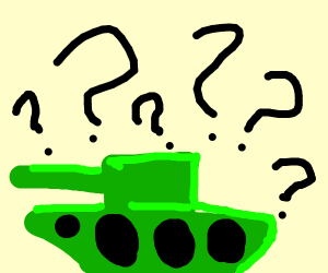 Confused tank