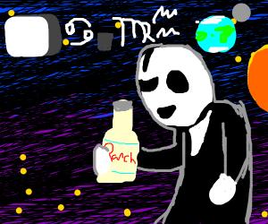 gaster sees u in space (ram ranch)