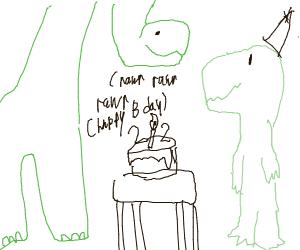 Dinosaurs 22nd birthday