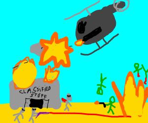 The Area 51 Massacre