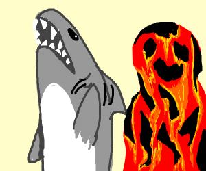 Sharkboy and Lava Girl