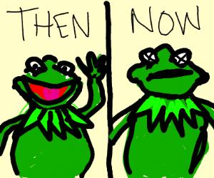 Kermit - Then VS Now