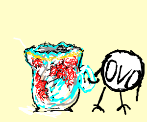 teacup and OVO