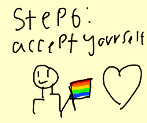 Step 5: Regret that you're gay
