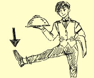 Waiter shoe