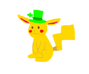 Irish pikachu