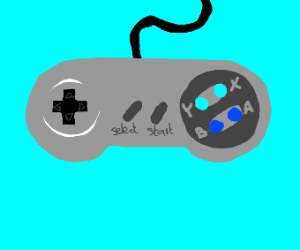 Classic Nintendo controller
