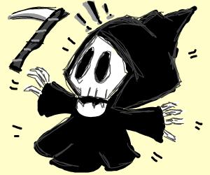 Frightening Grim Reaper