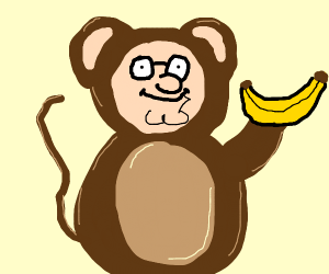 Peter Griffin monkey