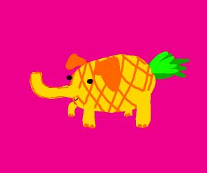 pineapple elephant