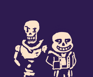 Sans and papyrus <3