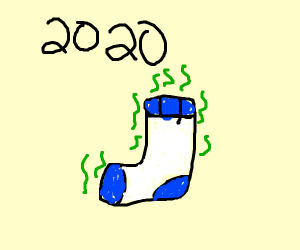 2020: The year of the smelly old sock
