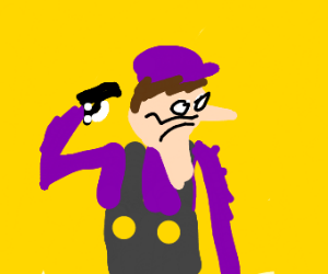 You hurt purple mario 's feelings :(