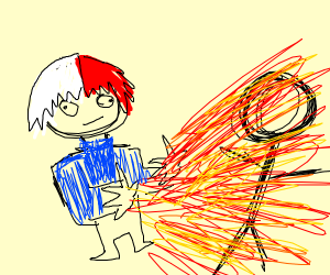 todoroki roasting someone