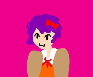 Purple haired Sayori (DDLC)