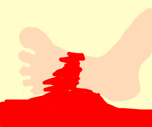 severed foot