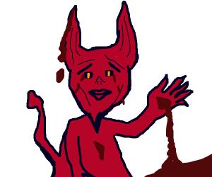Bloodies man/demon