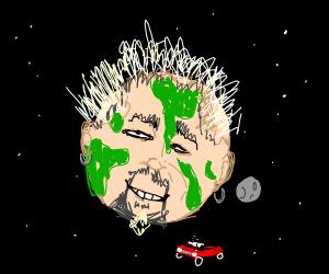 guy fieri, but he's planet earth