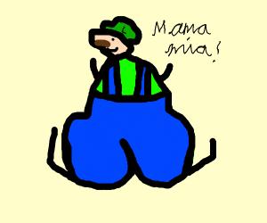 Stripper Luigi seduces Princess Daisy