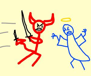 Devil in a Battle