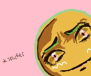 Smug gingerbread-man