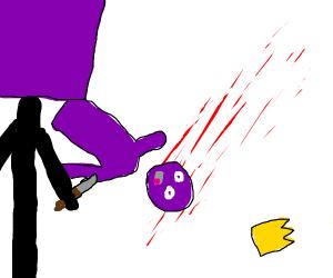 barry murdering larry