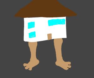 House on legs