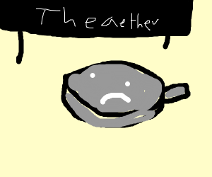 Scared frypan in the aether