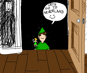 Peter Pan from the Basement