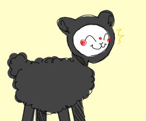 gleeful black sheep