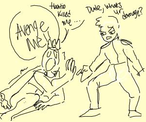 DudeBro improvises Hamlet, poorly