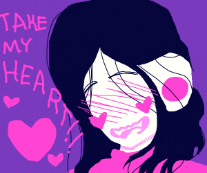 Goth girl wants you to take her heart