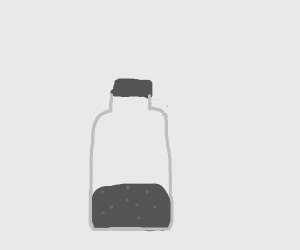 Bottle of chemicals