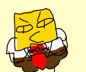 spongebob hates fortnite
