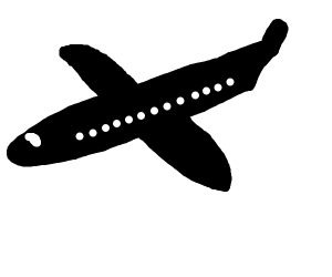 B&W airplane