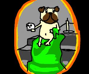 A Renaissance Pug Portrait
