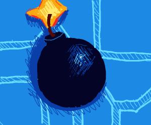It's a bomb!