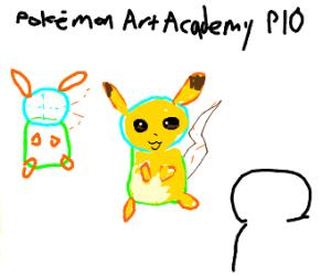 POKEMON ART ACADEMY P.I.O.