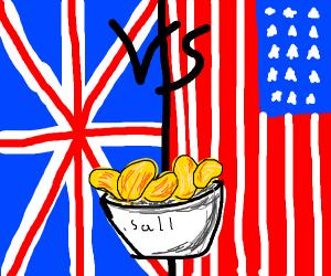 crisps vs chips