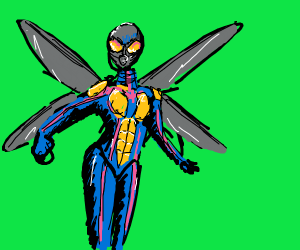 "the wasp from ""ant man"""