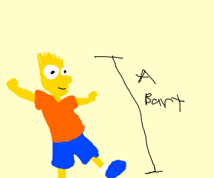 Toe to tip, this is a Bart!