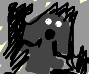 Shadow of Cthulhu petrified a little girl
