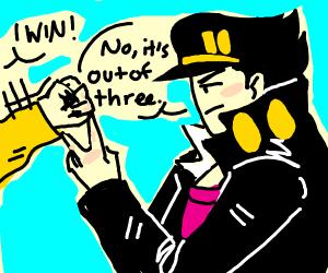Jotaro vs Dio but its kid friendly